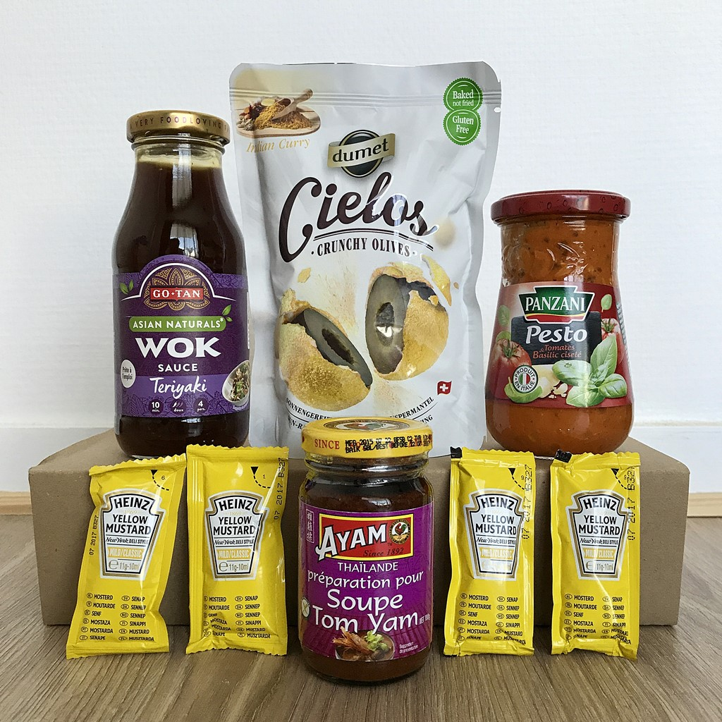 degustabox sauces et condiments