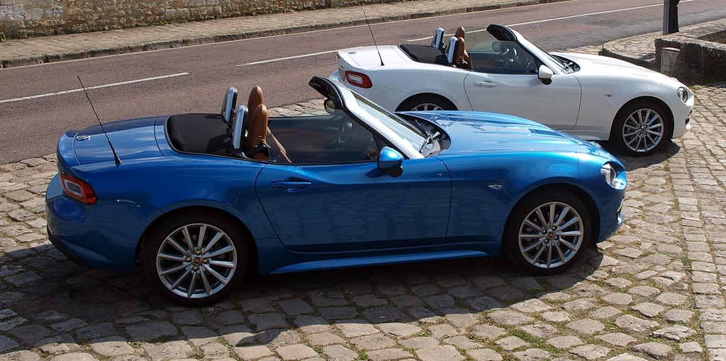 fiat 124 spider normandie