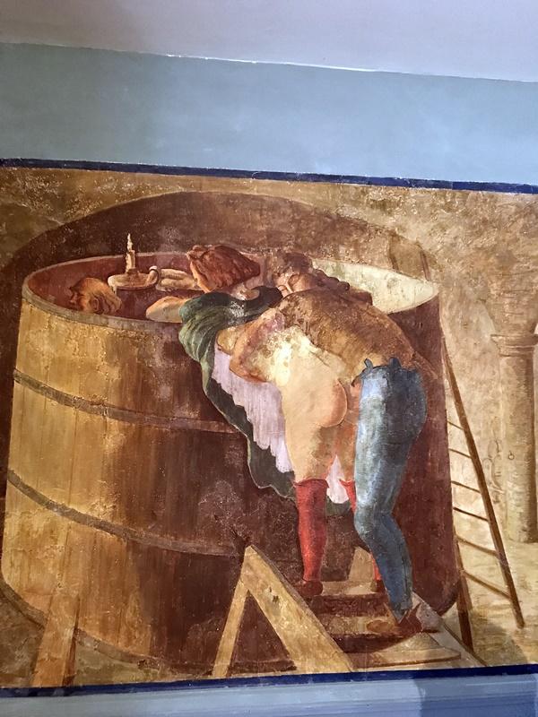 etoile bleue fresque Jacquemin