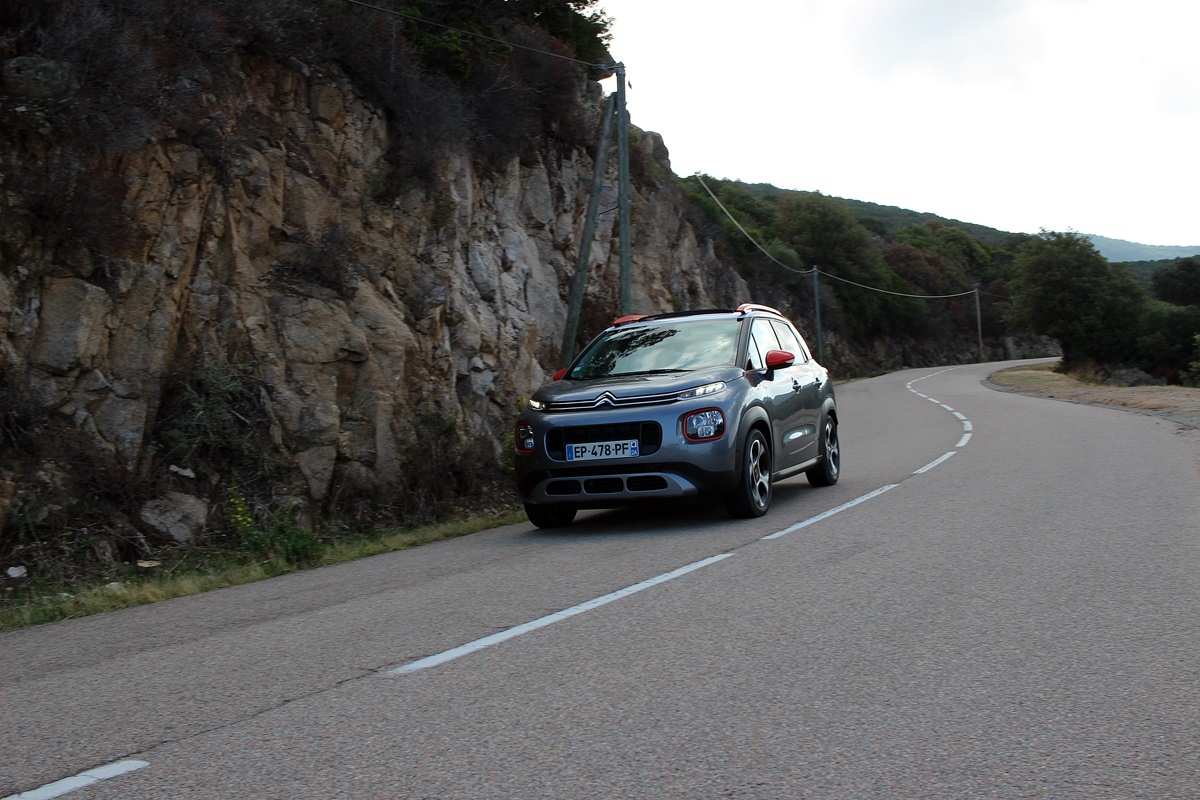 C3 aircross route corse