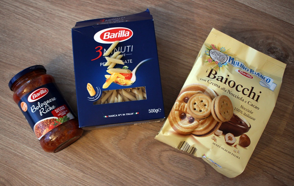 selection barilla