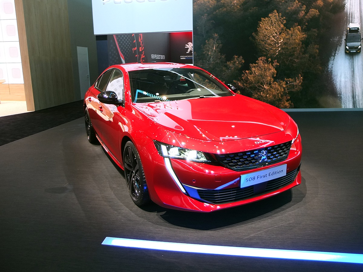gims - peugeot 508 first edition
