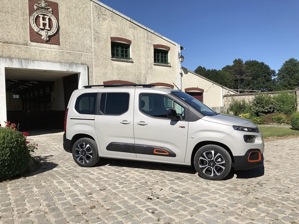 citroen berlingo profil