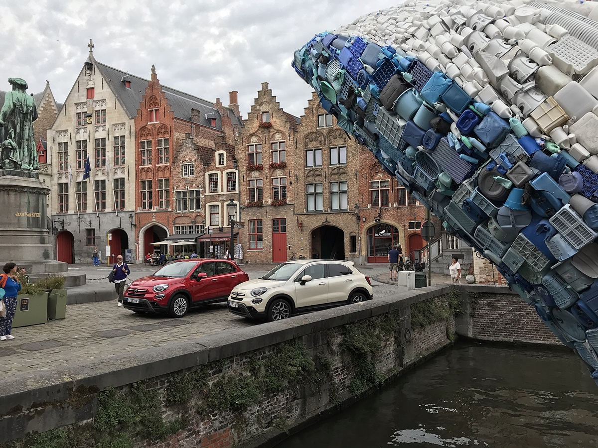 fiat 500X baleine de bruges