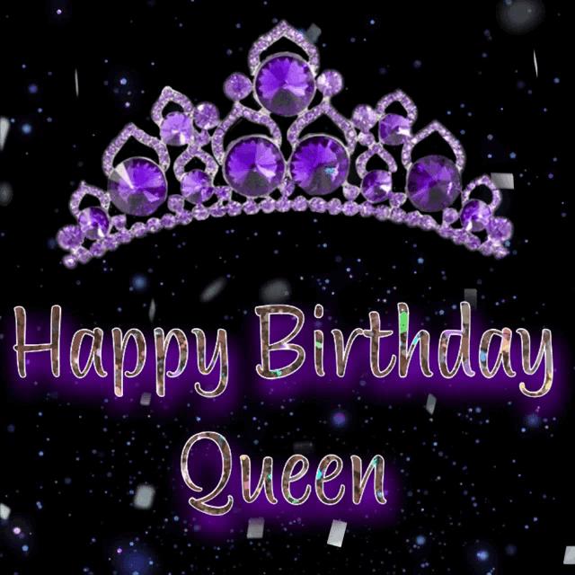 Happy Birthday Queen Gifs Tenor