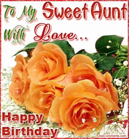 Sweet Aunt Happy Birthday Aunt Gif Sweetaunt Happybirthdayaunt Happybirthdayauntie Discover Share Gifs