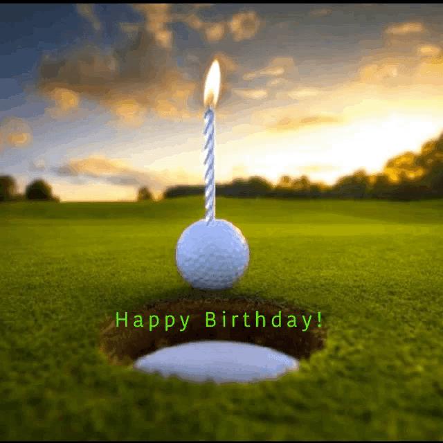 Happy Birthday Golf Gifs Tenor