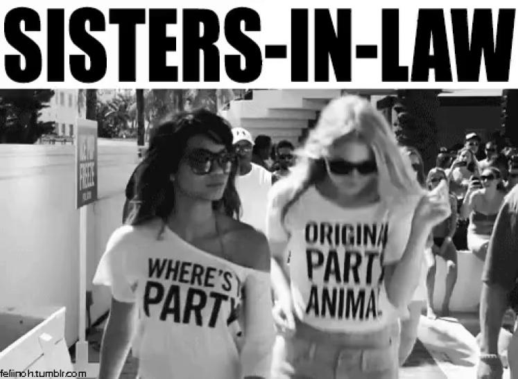 Sister In Law GIFs | Tenor