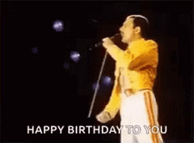 Freddie Mercury Happy Birthday Gifs Tenor