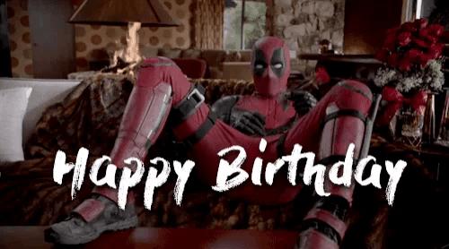 Happy Birthday Deadpool Gifs Tenor