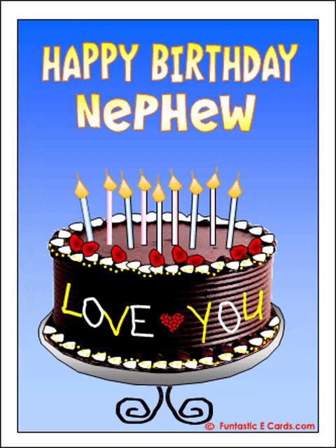 Happy Birthday Nephew Gifs Tenor