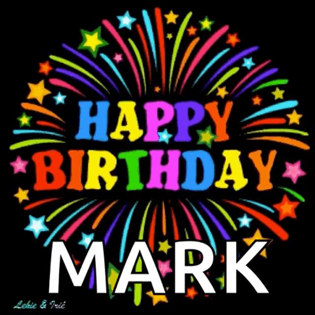Happy Birthday Mark Gifs Tenor