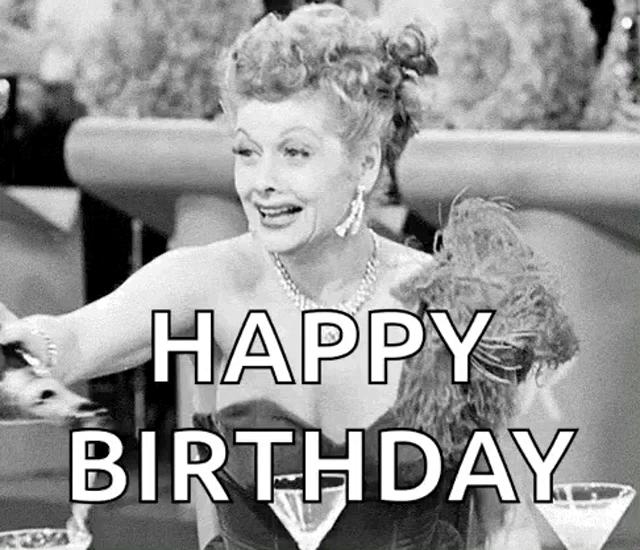 Happy Birthday I Love Lucy Gifs Tenor