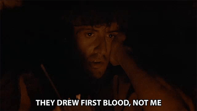 They Drew First Blood Not Me GIF - TheyDrewFirstBlood NotMe Serious -  Discover & Share GIFs