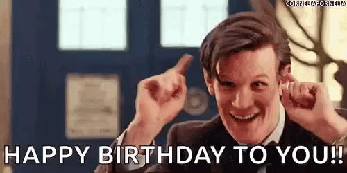 Happy Birthday Doctor Who Gifs Tenor