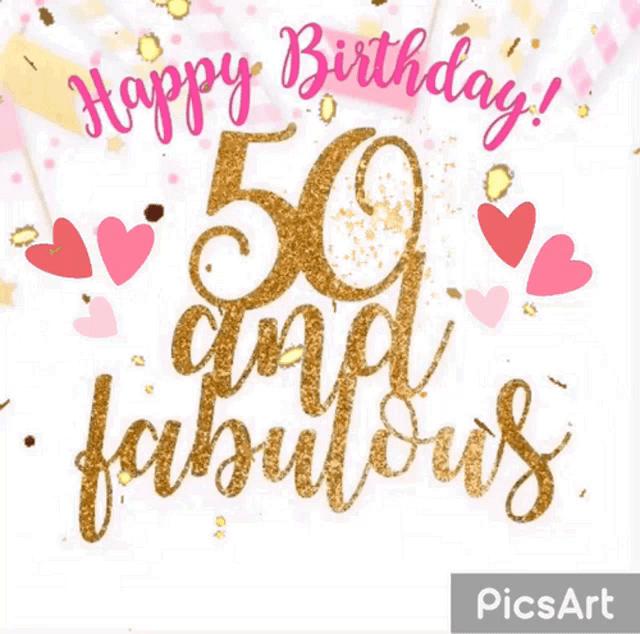 Happy 50th Gifs Tenor