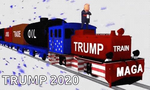 Trump Train Gifs Tenor