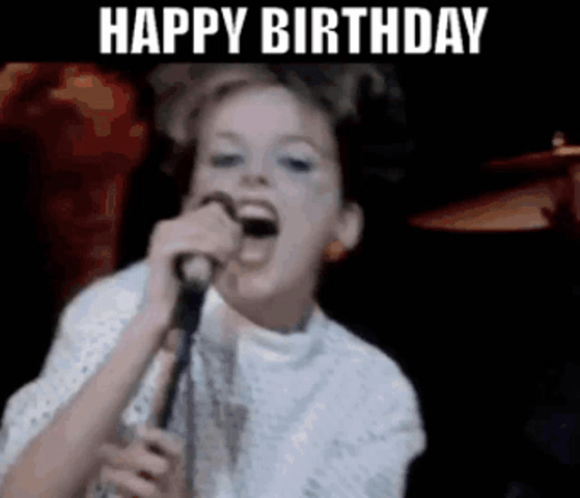 Happy Birthday Altered Images Gif Happybirthday Alteredimages Claregrogan Discover Share Gifs