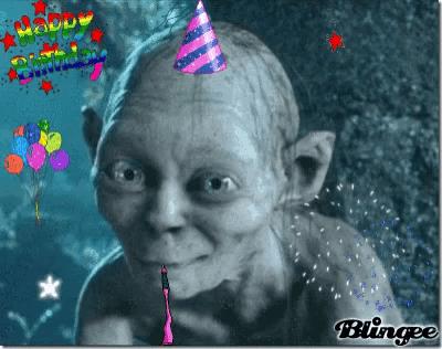Smeagol Birthday Gifs Tenor