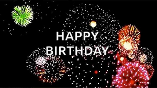 Birthday Fireworks Gifs Tenor