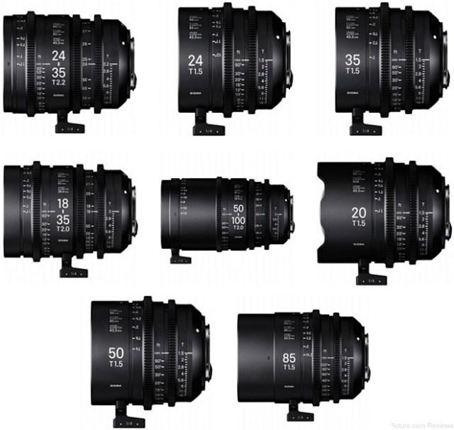 Sigma Announces New Cine Lenses