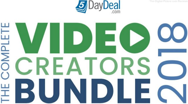 The Complete Video Creators Bundle 2018 by 5DayDeal