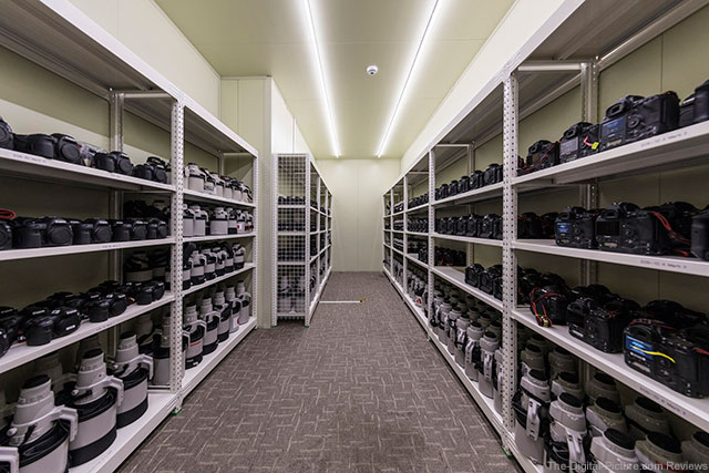 Canon USA Gear Storeroom at 2018 PyeongChang Winter Olympics