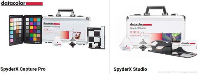 Datacolor Launches SpyderX Capture Pro and SpyderX Studio