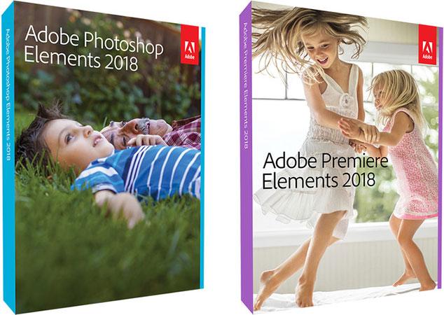 Adobe Photoshop/Premiere Elements 2018