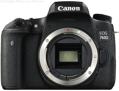 Canon EOS 760D (Rebel T6s) DSLR Camera - $  648.95 (Compare at $  849.00)