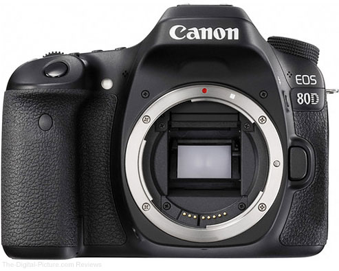 Canon EOS 80D DSLR Camera - $  889.95 Shipped (Compare at $  1,099.00)