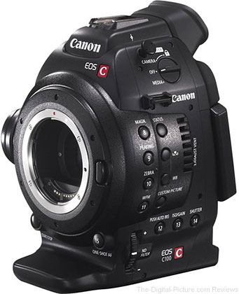Canon EOS C100 Cinema EOS Camera with Dual Pixel CMOS AF - $  2,999.00 Shipped (Reg. $  4,499.00)