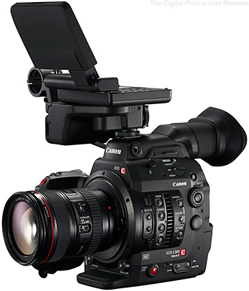 Canon EOS C300 Mark II Meets EBU HD and UHD Classification