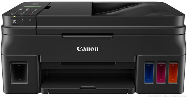 Canon U.S.A. Launches First PIXMA Inkjet Printers with Built-In Refillable Ink Tank System