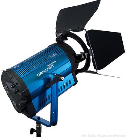 Dracast LED1500 Bi-Color LED Fresnel with Wi-Fi