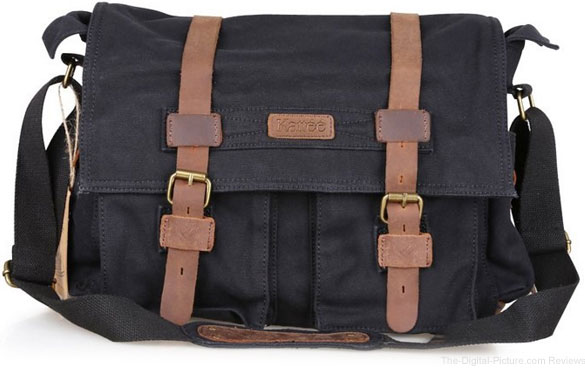 Lightning Deal: Kattee Canvas DSLR Shoulder Messenger Bag - $  45.59 (Reg. $  56.99)