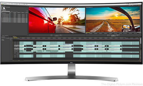 "Win an LG 34"" 21:9 UltraWide Thunderbolt Curved LED Monitor from B&H"