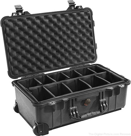 Pelican 1510 Carry On Case with Dividers - $  149.95 Shipped (Reg. $  189.95)