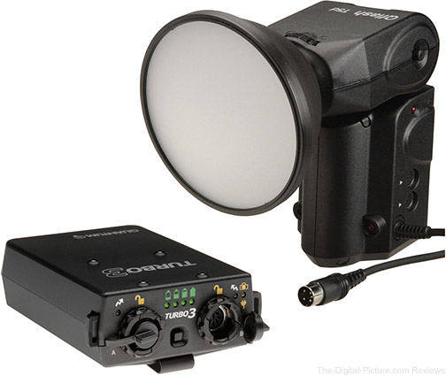 Quantum Qflash T5D-R TTL Flash w/ Turbo 3 Rechargeable Battery Kit