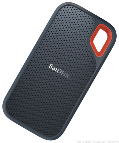 SanDisk 2TB Extreme Portable USB 3.1 Type-C External SSD