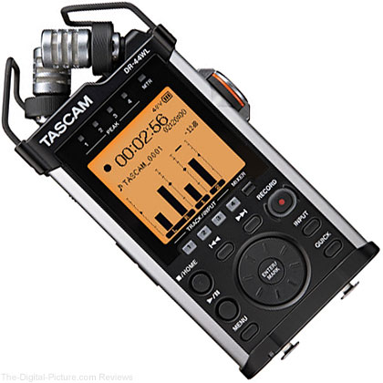 Tascam DR-44WL Portable Handheld Recorder with Wi-Fi - $  159.95 Shipped (Reg. $  279.95)