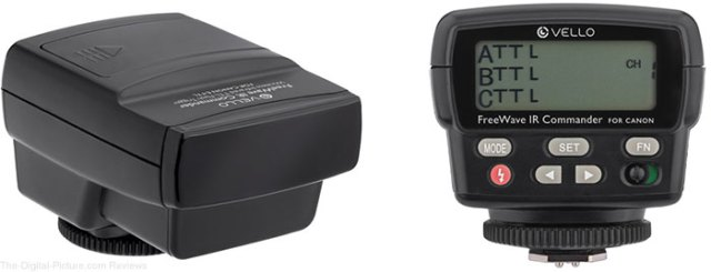 Vello FreeWave IR TTL Flash Commander for Canon In Stock at B&H