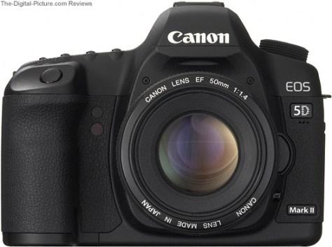 Canon EF 50mm f/1.4 USM Lens Mounted on a Canon EOD 5D Mark II DSLR