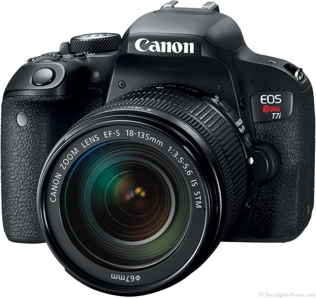 A Closer Look at the Canon EOS Rebel T7i / 800D and EOS 77D DSLR Cameras, New Lens