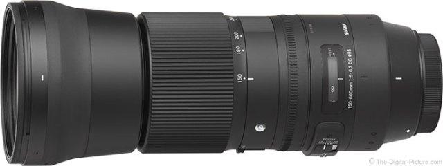 Sigma 150-600mm f/5-6.3 DG OS HSM Contemporary Lens