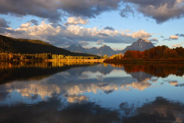Canon 24-70 L II Meets Fall Reflection at Oxbow Bend, Grand Teton National Park