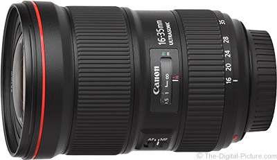 Canon EF 16-35mm f/2.8L III USM Lens Now Qualifies for a $  200.00 Instant Rebate