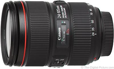 Canon EF 24-105mm f/4L IS II Lens Delayed Until December
