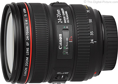 Still Live: Canon EF 24-70mm f/4L IS USM Lens - $  599.00 Shipped (Compare at $  849.00)