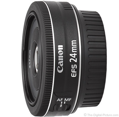 Refurb. Canon EF-S 24mm f/2.8 STM for $  99.99 (And Other Deals) at the Canon Store